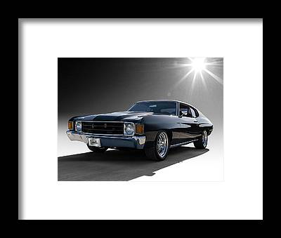 Vintage Chevrolet Framed Prints