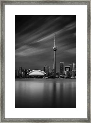 8 Minutes In Toronto Framed Print