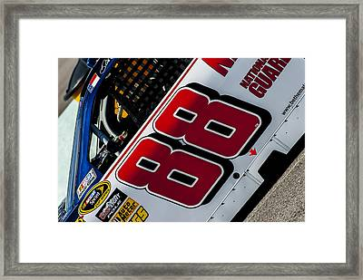 88 Jr. Framed Print