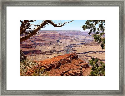 A Breathtaking Grand Canyon View Framed Print