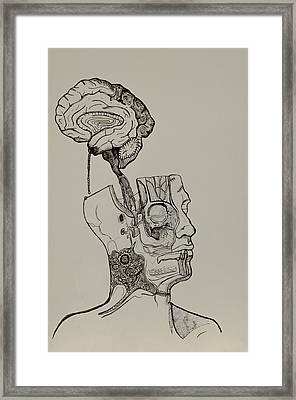 A Bright Idea Framed Print by Nickolas Kossup