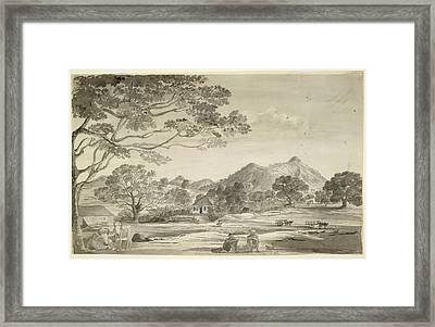 A Bungalow Framed Print