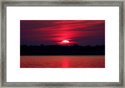 A Chesapeake Bay Sunrise Framed Print