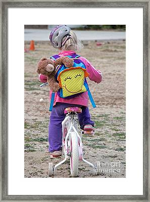 A Child's Adventure Framed Print