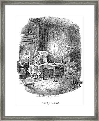 A Christmas Carol Framed Print by Granger