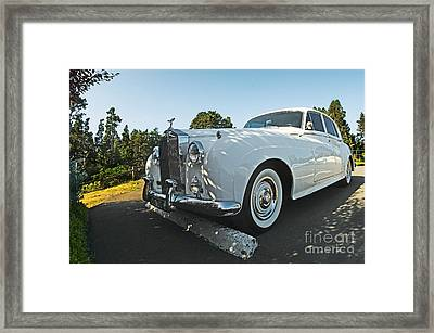 A Classic Rolls Royce Framed Print by Ron Sanford