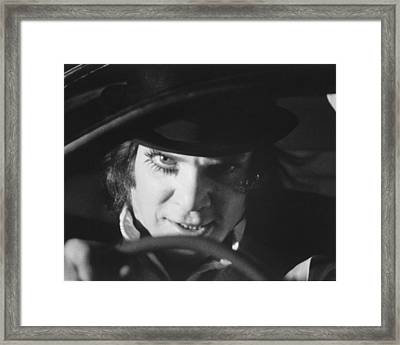 A Clockwork Orange Framed Print by Silver Screen