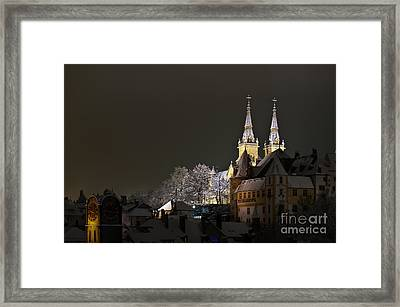 A Cold Winter's Night Framed Print
