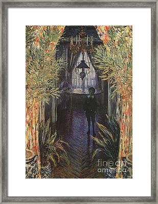 A Corner Of The Apartment Framed Print by Claude Monet