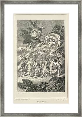 A Fairy Tale Of Love Framed Print by British Library