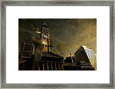 A Flight In Time Framed Print by Jorgo Photography - Wall Art Gallery