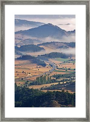 A Foggy Day Framed Print by Ayhan Altun