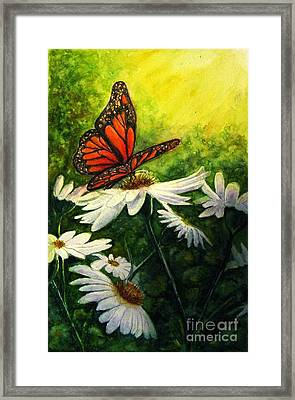 A Life-changing Encounter Framed Print