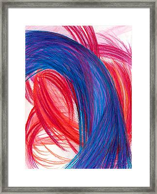 A Passionate Intuition Framed Print