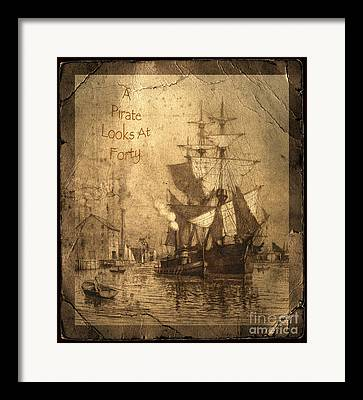 Historic Schooner Framed Prints
