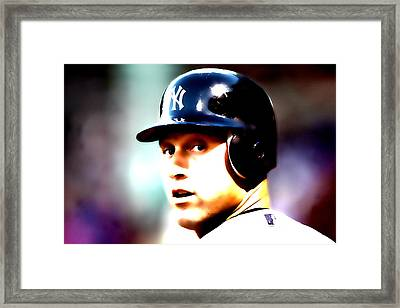 A Rod Framed Print by Brian Reaves