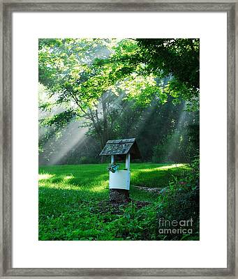 A Small Wish   2 Framed Print