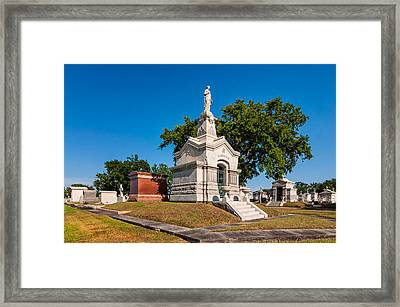 A Tomb To Die For Framed Print