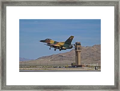 A U.s. Air Force F-16 Taking Framed Print