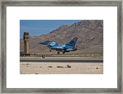 A U.s. Air Force F-16c Taking Framed Print