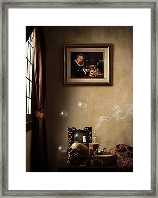 A Vanitas For The Stadhouder Framed Print by Levin Rodriguez