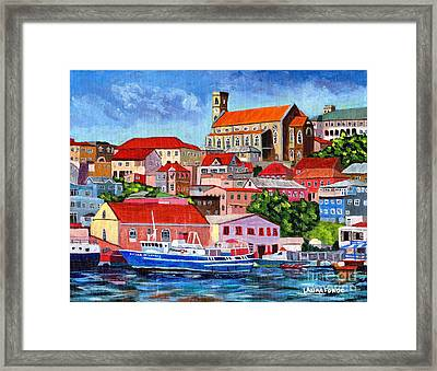 A View Of The Carenage Framed Print