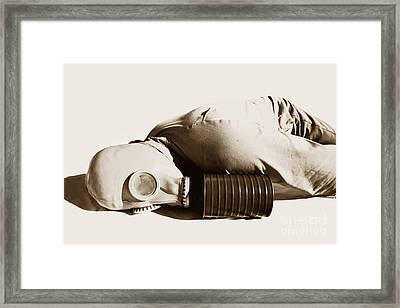 A Vintage Death Framed Print by Jorgo Photography - Wall Art Gallery