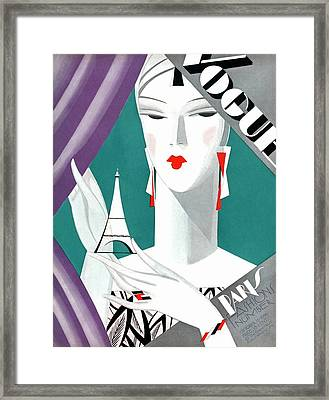 Vogue Magazine Covers Framed Art by AllPosterscouk