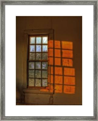 A Window Framed Print by Mark Alder