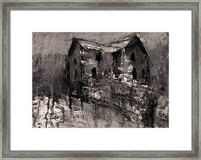 Abandoned 2 Framed Print by Jim Vance