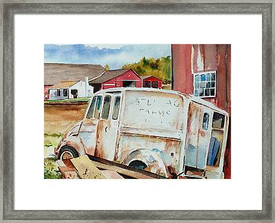 Forgotten Delivery  Framed Print