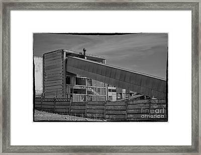 Abandoned Factory At Vadu Framed Print by Gabriela Insuratelu