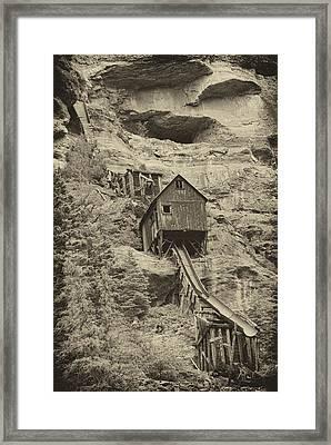 Abandoned Mine Framed Print