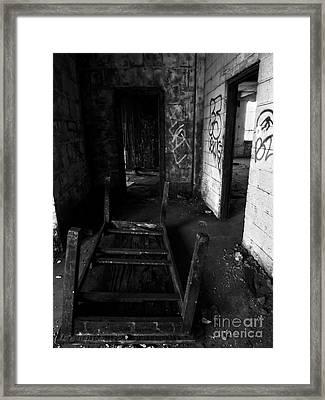 Abandoned Space Iv Framed Print by James Aiken