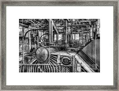 Abandoned Steam Plant Framed Print