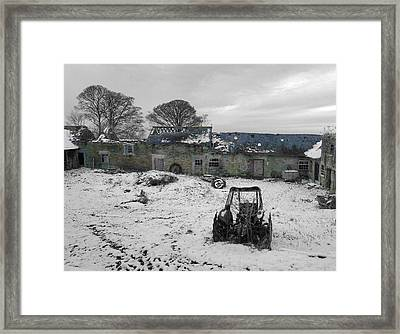 Abandoned To Nature Framed Print by David Birchall