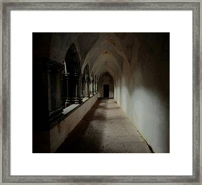 Abbey Heart Framed Print by Peter Skelton