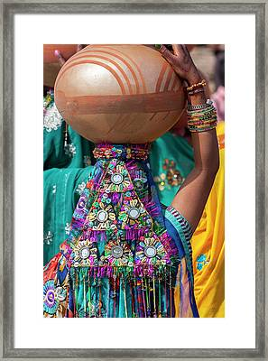 Abhaneri, Rajasthan, India Framed Print by Charles O. Cecil
