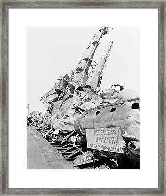 Able Day Atom Bomb Test Framed Print