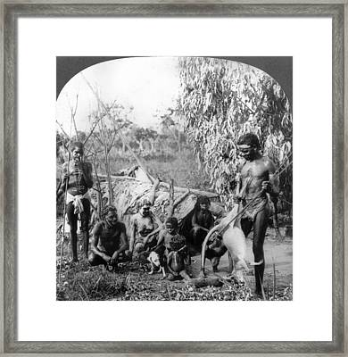 Aboriginal Australians Framed Print