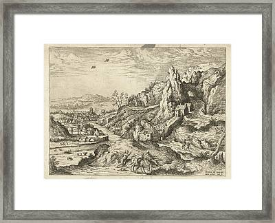 Abraham And Isaac On The Road To The Place Of Sacrifice Framed Print