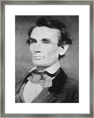 Abraham Lincoln Framed Print by Unknown