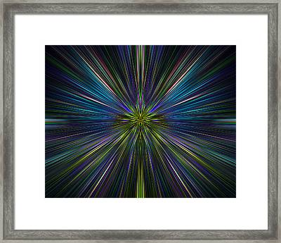 Abstract 0021 Framed Print
