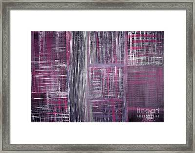 Abstract #1 Framed Print by Angela Bruno