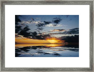 Abstract 129 Framed Print by J D Owen