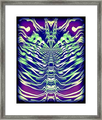Abstract 140 Framed Print by J D Owen