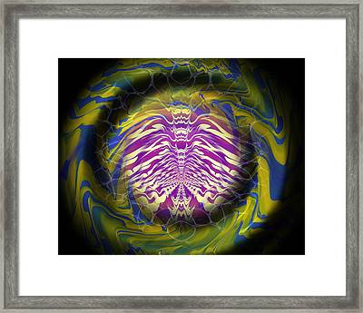 Abstract 141 Framed Print by J D Owen
