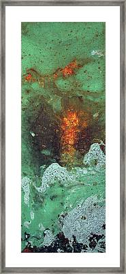 Abstract 2 Framed Print by Corina Bishop