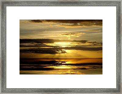 Abstract 91 Framed Print by J D Owen