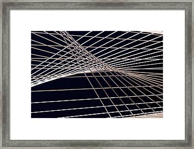 Abstract Framed Print by John Babis